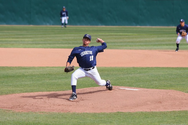 Gil Romero tossed eight shutout innings to improve to 4-0 on the year.