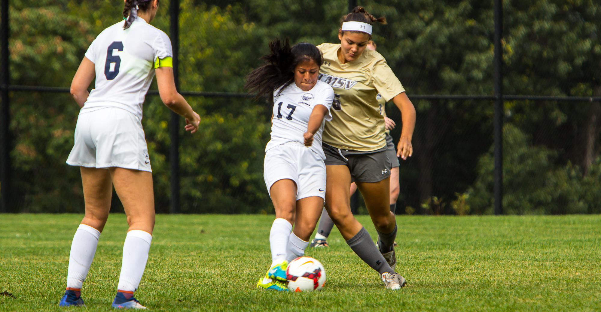 Women's Soccer Battles Mount St. Vincent in First Round of Skyline Playoffs