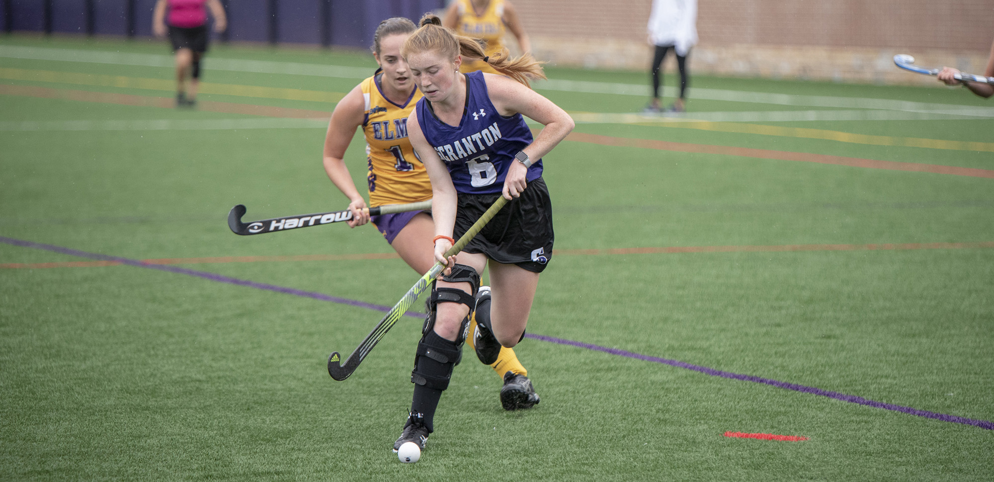 Allie Benadon opened the scoring for Scranton on Wednesday in the Royals' 5-0 win at Drew.