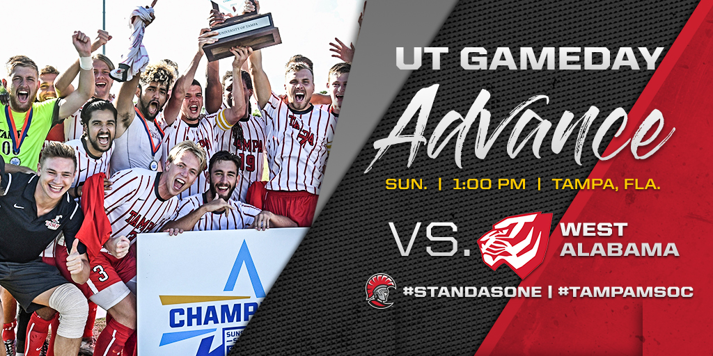Tampa Hosts West Alabama in 2nd Round of NCAA Tournament
