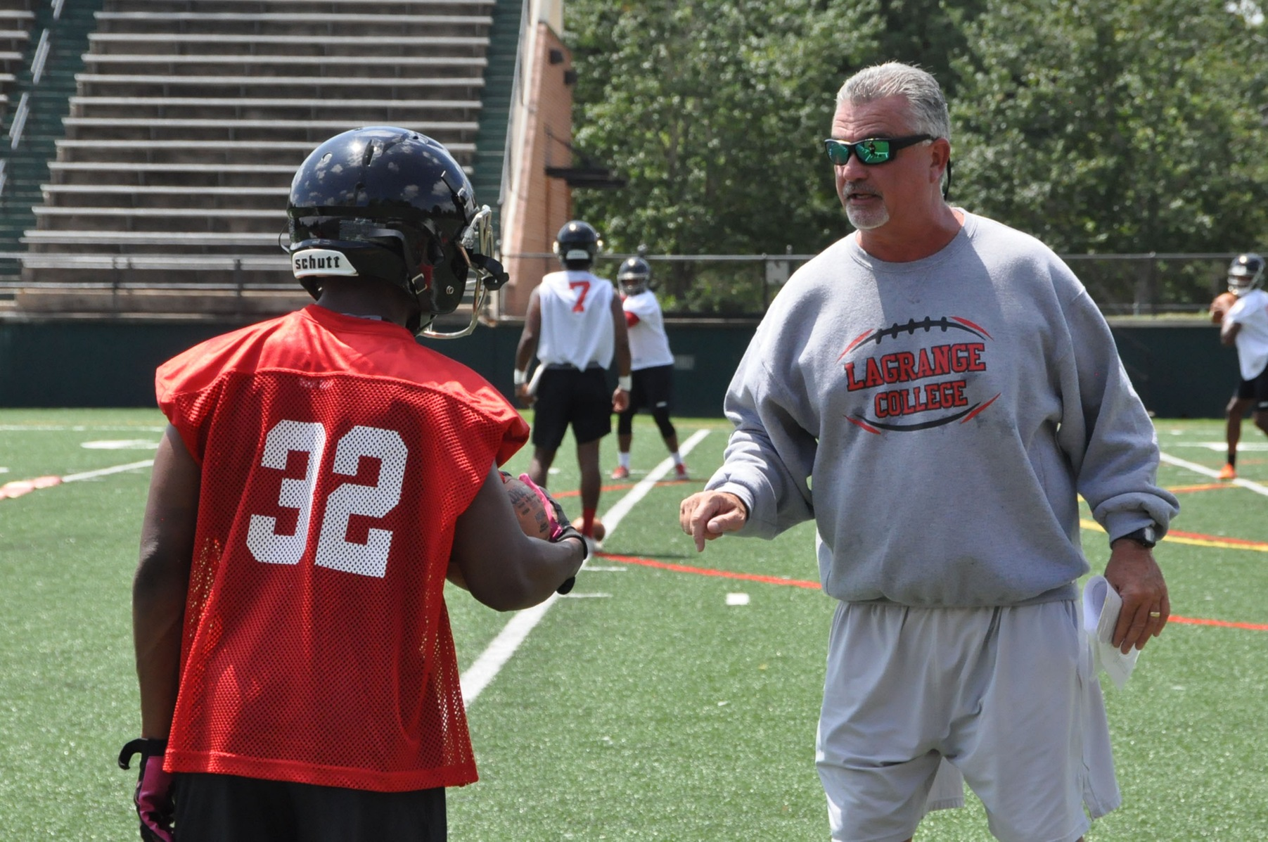 Football: Panthers go through first preseason practice Thursday