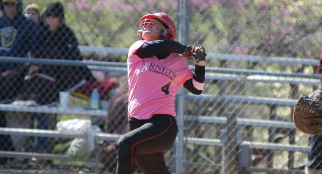 Tenney hit a home run in both games of Wednesday's doubleheader