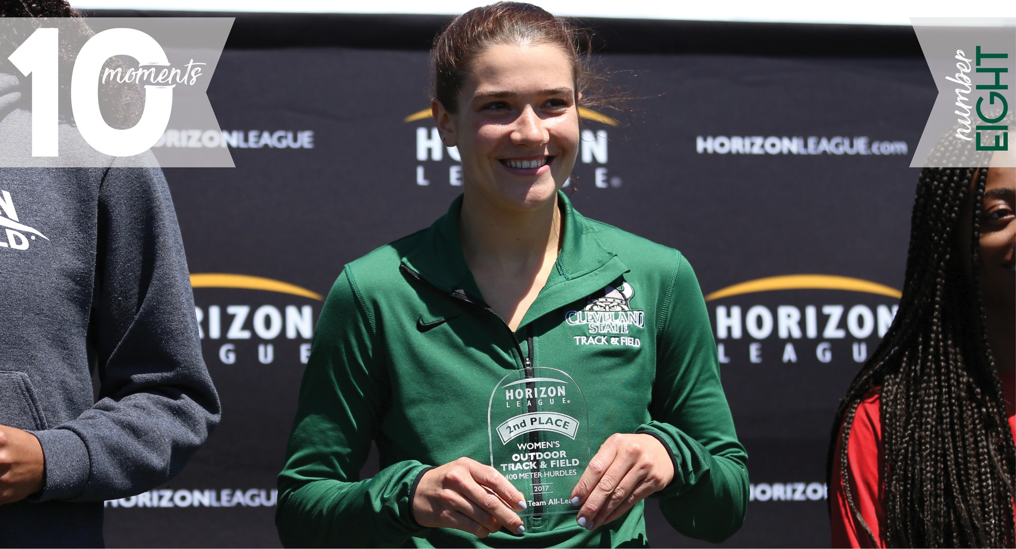 2016-17 CSU Athletics Top 10 Moments | #8 Derkacs Earns All-League Honors at HL Track & Field Championship