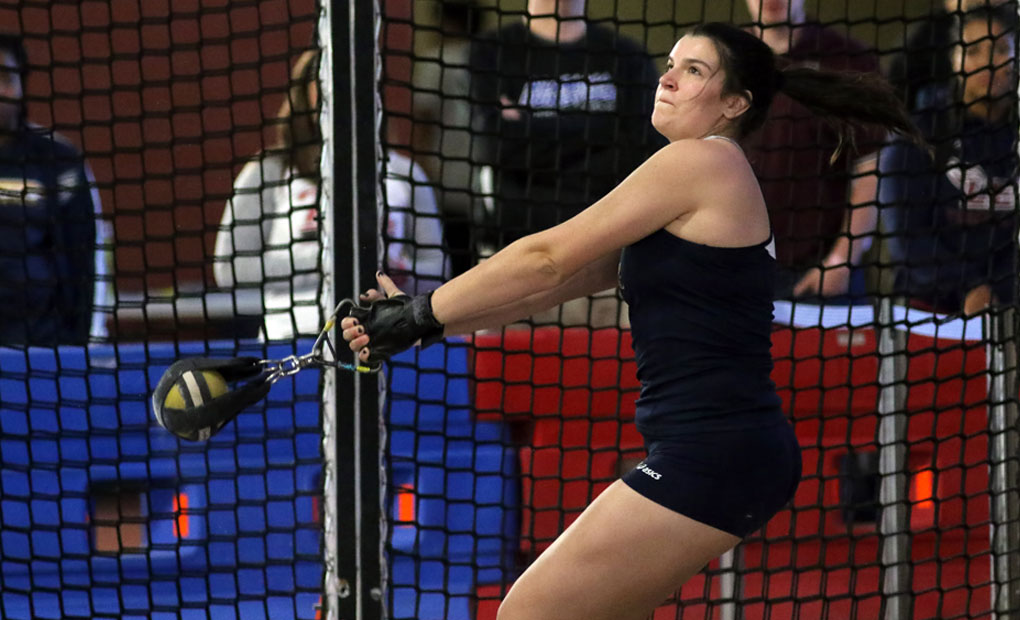 Track & Field Teams Compete at BSC Icebreaker to Open Indoor Season