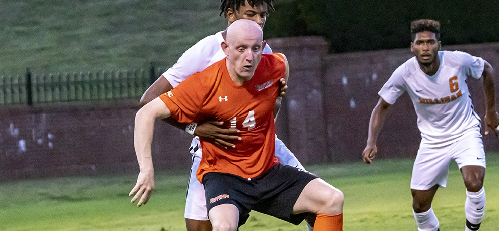 Luke Murphy had a goal and an assist against Milligan (photo by Chuck Williams)