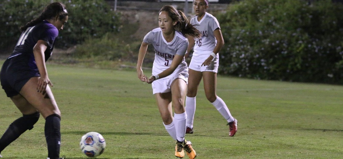 Still Alive! CMS Women's Soccer Stays in SCIAC Playoff Hunt with 2-0 Road Win at Redlands