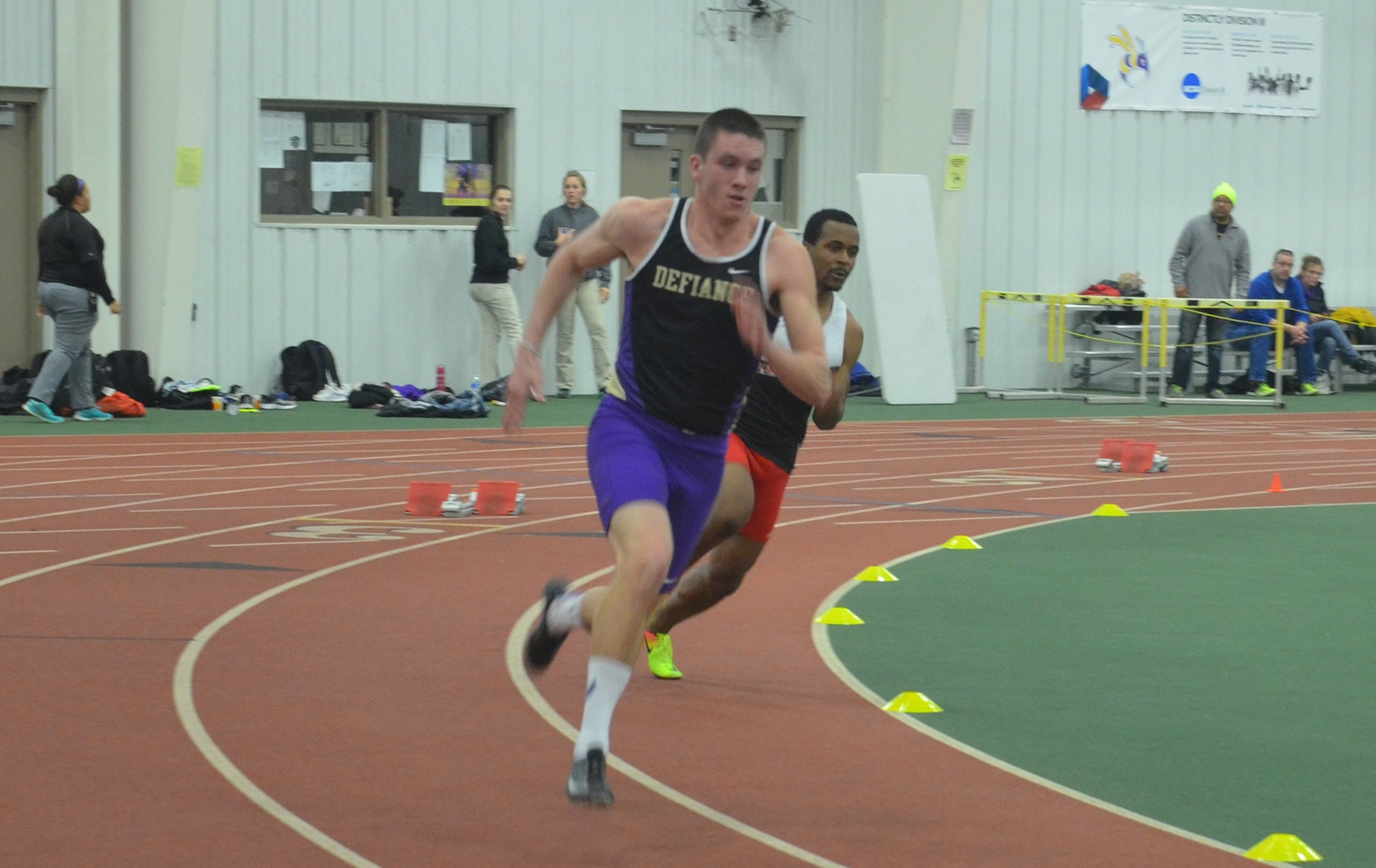Defiance Men Finish Seventh at HCAC Championships
