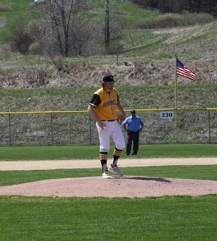 Broome pitcher on the mound