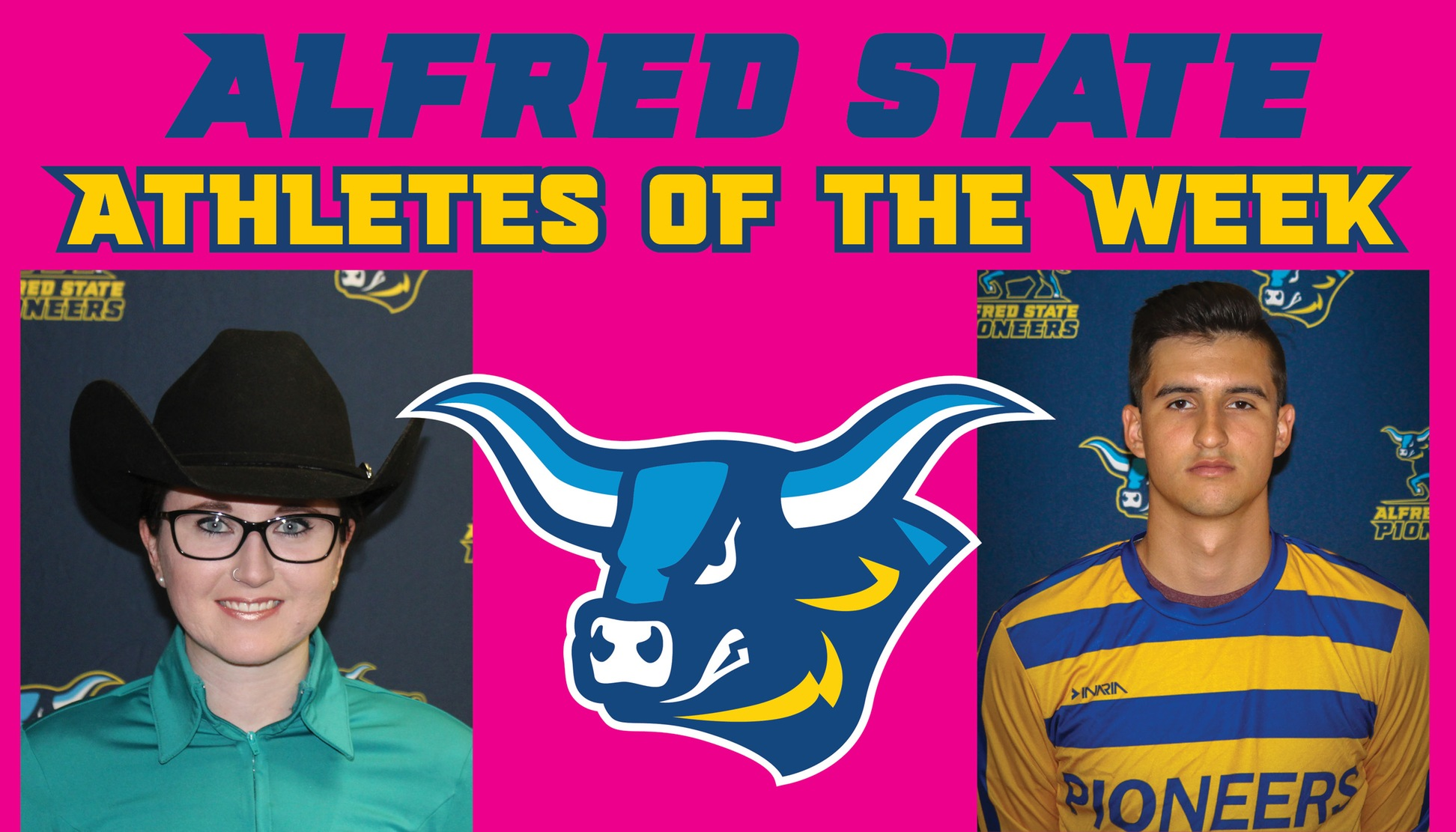 Meghan Castoro and Nico Coria Named Athletes of the Week