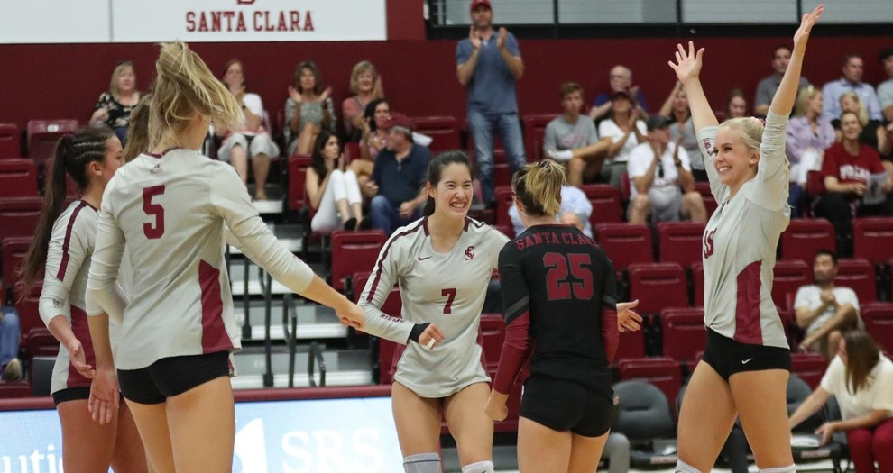 Volleyball Wins Home Opener, Downs San José State, 3-1