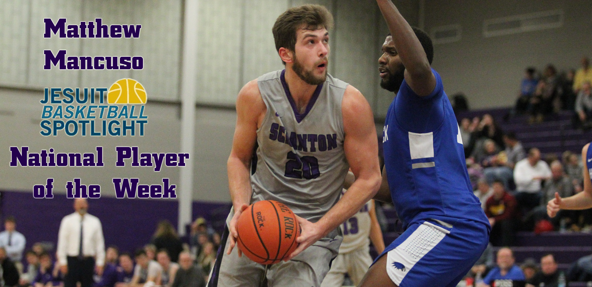 Junior forward Matthew Mancuso has been named the National Jesuit Player of the Week.