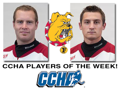 Wysopal & Johnston Earn CCHA Weekly Honors