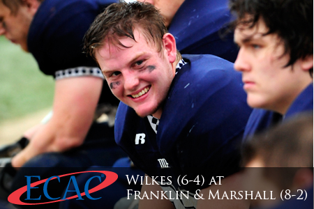 Wilkes (6-4) at F&M (8-2)