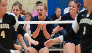 Volleyball Closes Trick-or-Treat Classic Undefeated