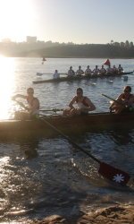 Men's Varsity 8 Gets First Win of the Season