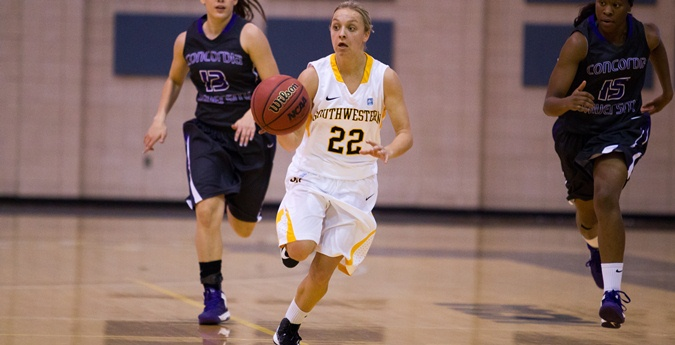 Women's Basketball Hits Century Mark in SCAC Win