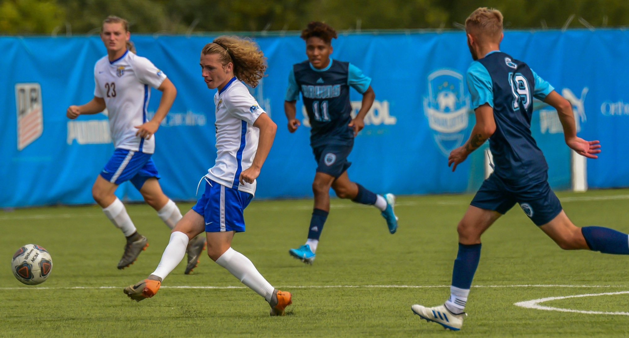 Men's Soccer Wraps Up Regular Season With Road Win