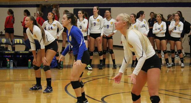 Women's Volleyball Blanks RIC 3-0