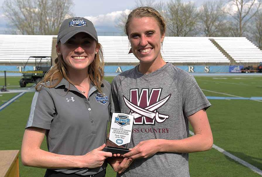 Women Finish Runner-Up at G-MAC Championships, Berger Athlete of the Meet