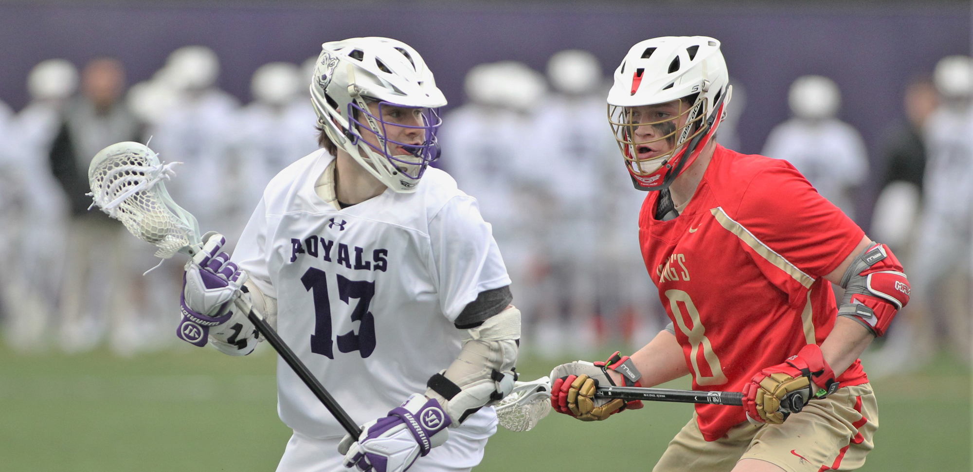 Thomas Nagle was one of 14 different Royals to register at least one point in Scranton's lopsided win over Goucher on Saturday. © Photo by Timothy R. Dougherty / doubleeaglephotography.com