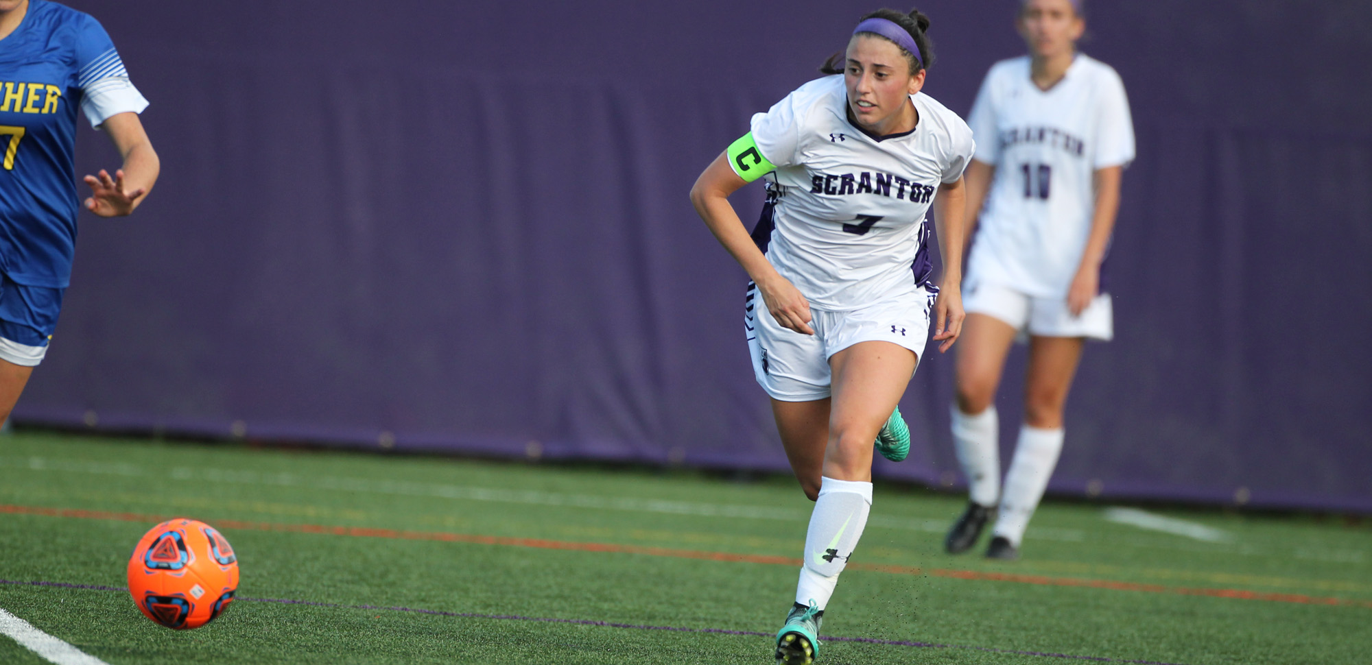 Senior Erica Licari scored her 19th career goal in Saturday's 1-0 win over Goucher.