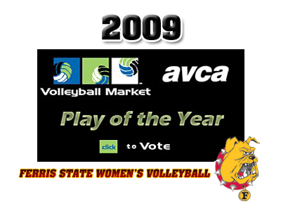 Ferris State A Finalist For Women's Volleyball Play Of The Year