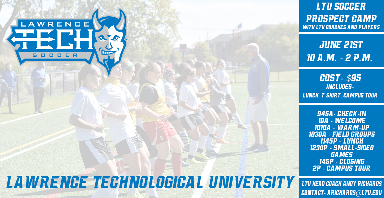 Photo for Lawrence Tech Soccer Set For Prospects Camp on June 21 at 10 a.m.