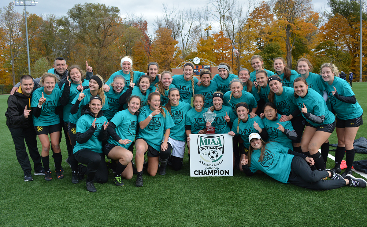 Women's Soccer Wins First Ever Conference Tournament Title