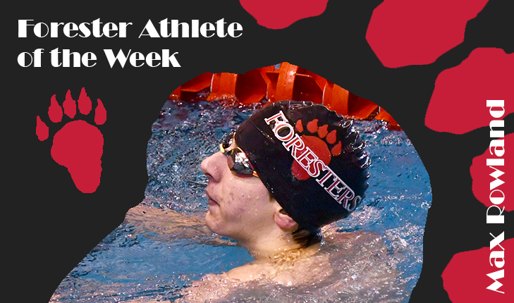 Max Rowland Named Forester Athlete of the Week
