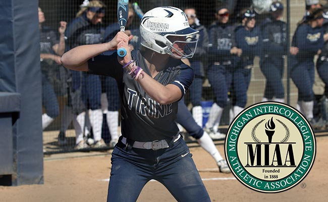 Makenna Hartline Takes MIAA Weekly Honor