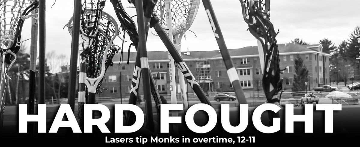 Lasers Tip Monks in Overtime, 12-11
