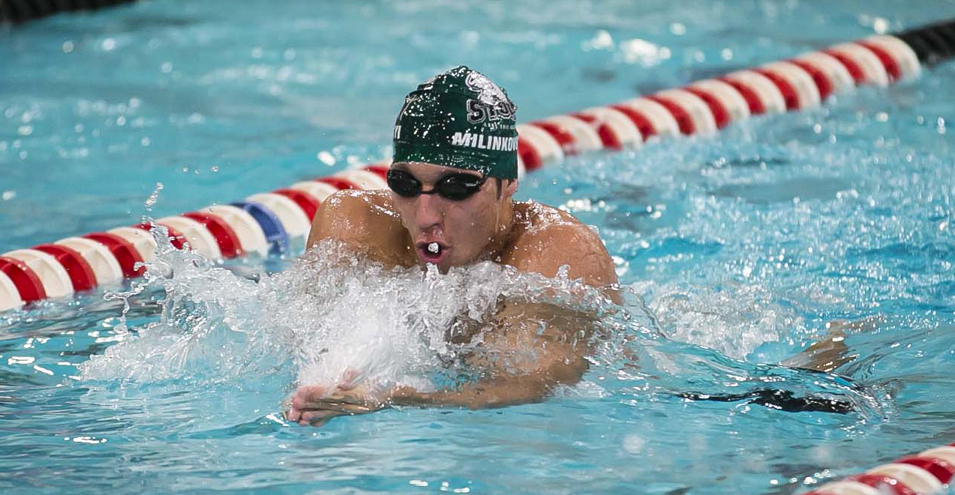 All-out swim earns All-American honor