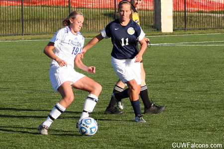 Straehler Records Hat Trick, Women's Soccer Blanks Concordia Chicago