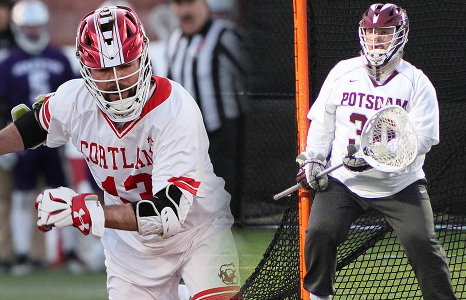 Cortland and Potsdam awarded with Men's Lacrosse Weekly honors