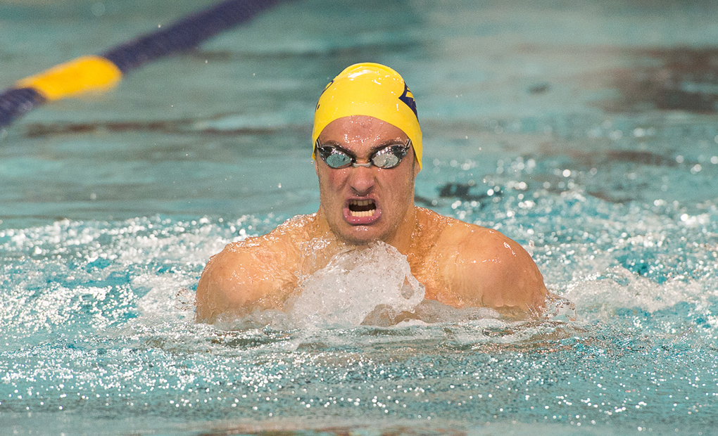 Men's Swimming & Diving Claims Five Event Wins in Dual Meet At Florida Southern