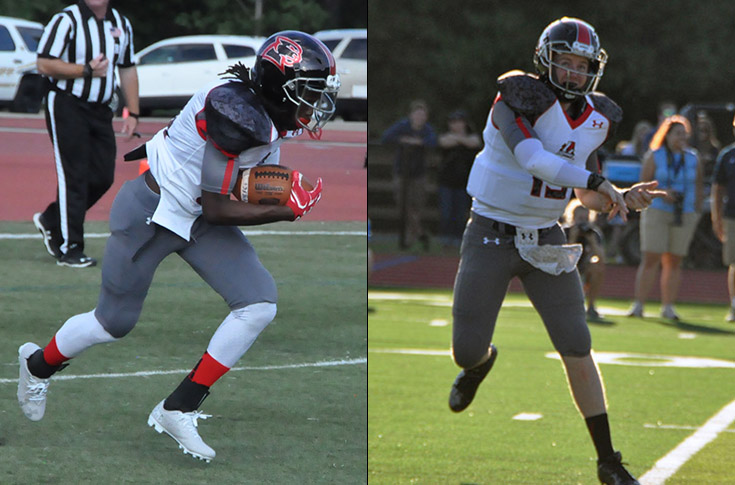 2016-17 Review/Football: Blair and Button earn USA South weekly honors for performances in Averett game