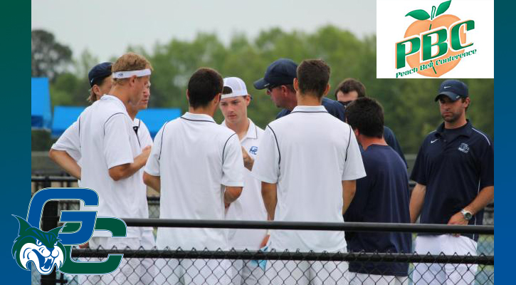 GC Men's Tennis Earns Share of PBC Sportsmanship Award