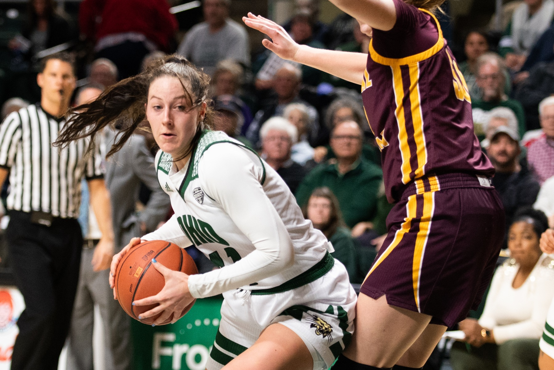 Ohio Women's Basketball Handed First Loss Of Season By Central Michigan