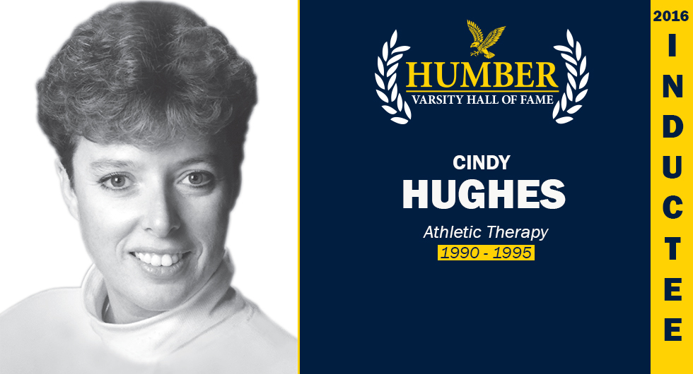 2016 HUMBER VARSITY HALL OF FAME INDUCTEE - CINDY HUGHES