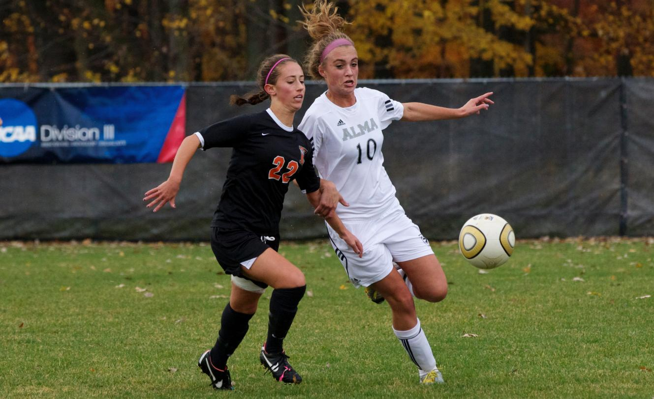 Alma Women's Soccer defeats host Saint Mary's 2-0 on Tuesday