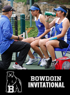 Tennis Wraps Play at Bowdoin Invitational
