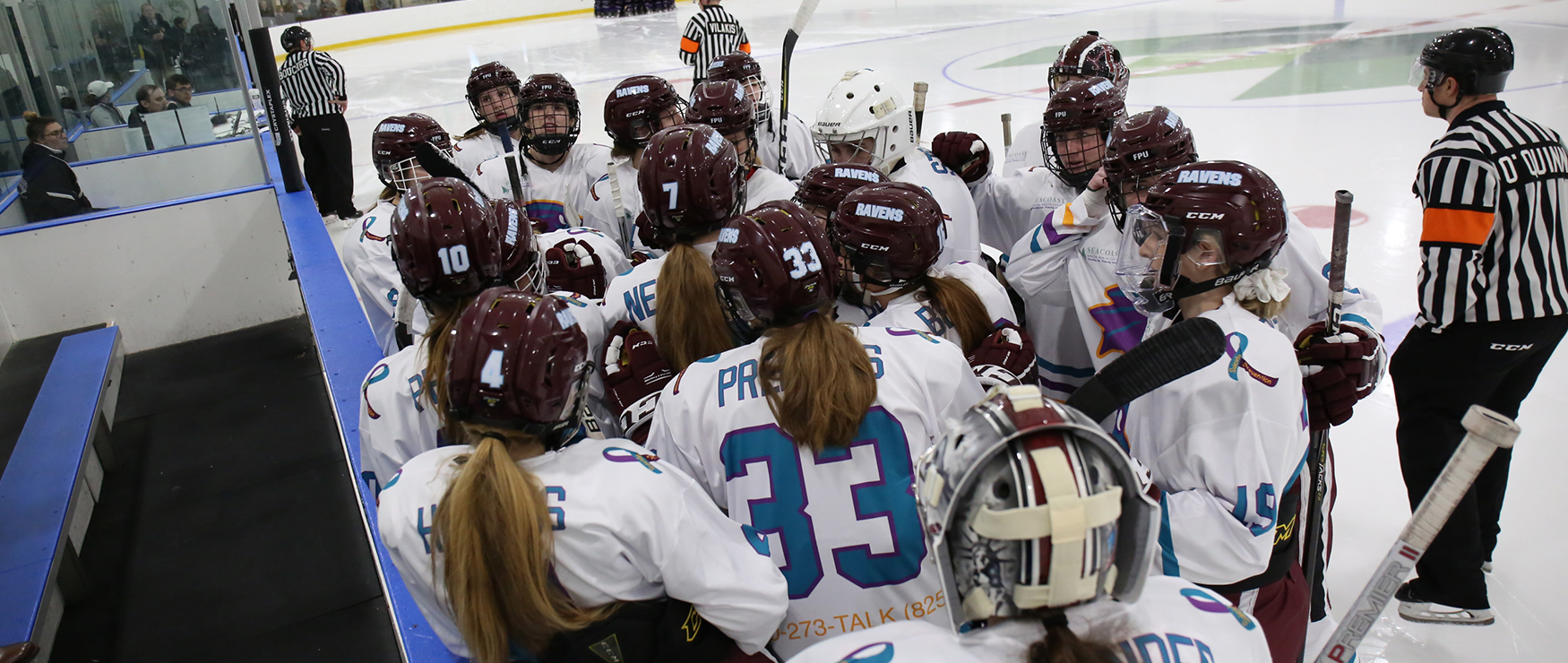 Game Gets Away in Third, as Women's Ice Hockey Falls to Morrisville State, 6-3