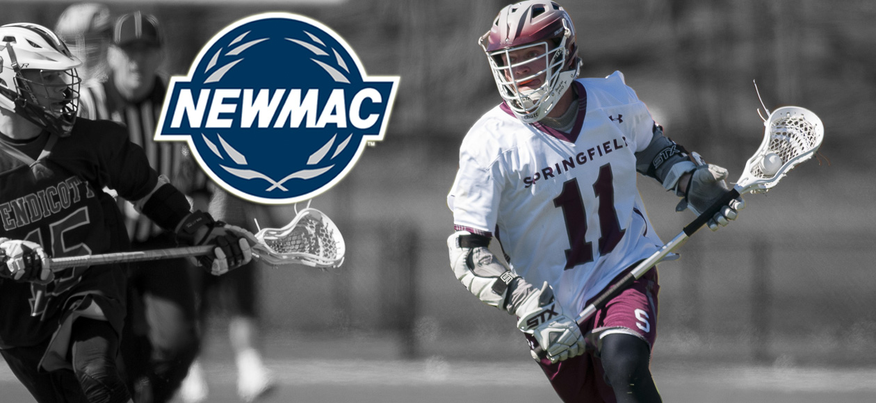 LaCroix Named NEWMAC Men's Lacrosse Co-Defensive Player of the Week