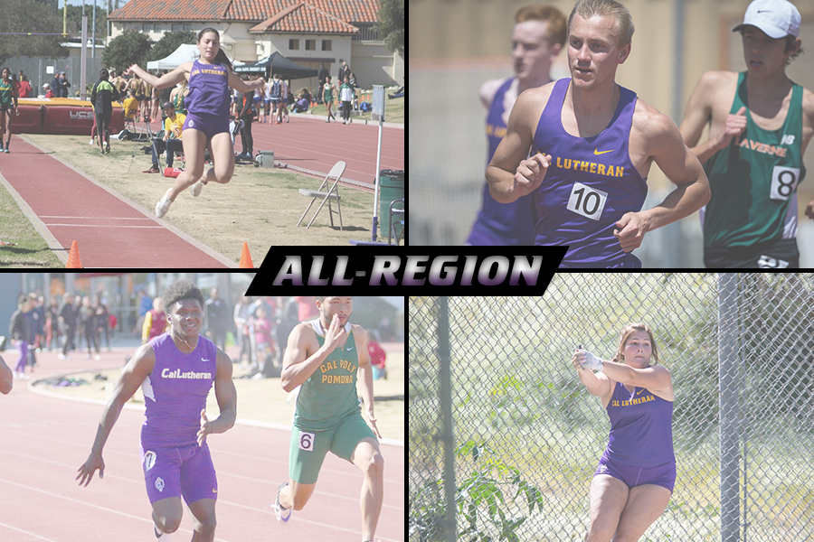 Four Track & Field Athletes Named to USTFCCCA All-Region