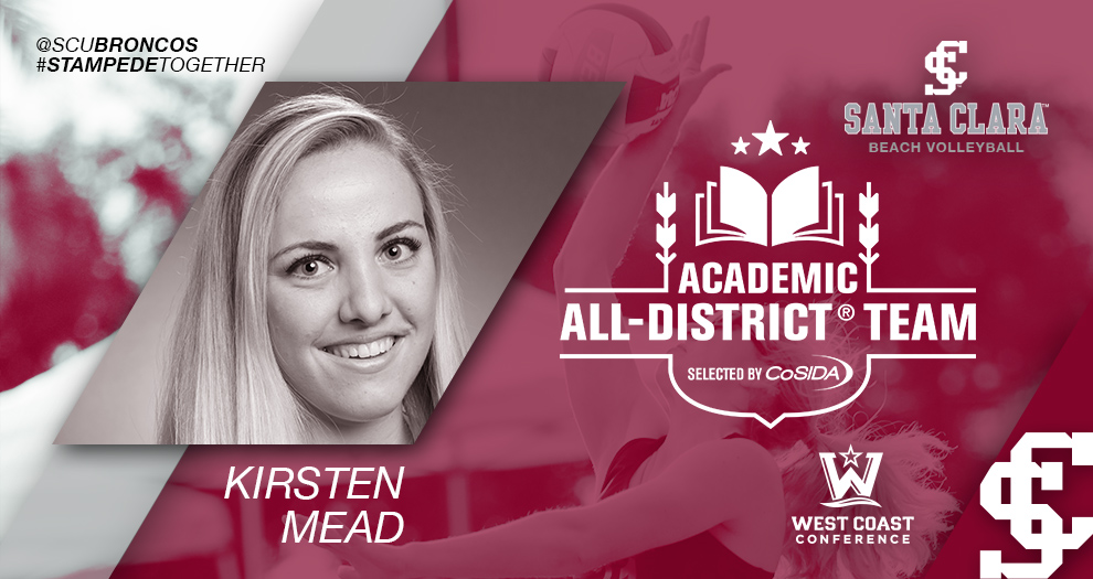 Mead Receives Beach Volleyball's First CoSIDA Academic Honor