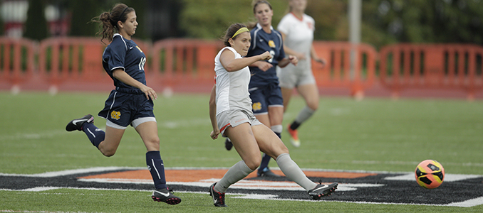 Pacific Lutheran Pushes Past Women's Soccer in Double Overtime