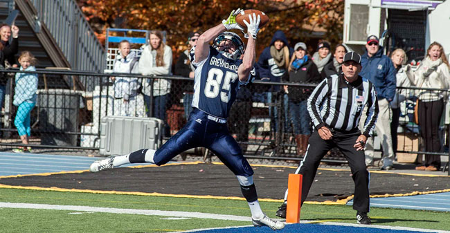 Moravian Football - F&M Video Recap