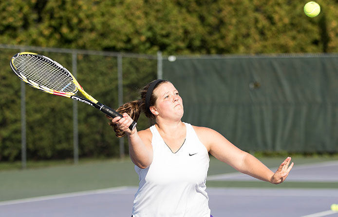 Women's Tennis Falls During NE10 Road Match at Regionally-Ranked Assumption