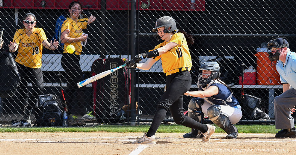 Back-to-back Bombs Highlight Softball Split