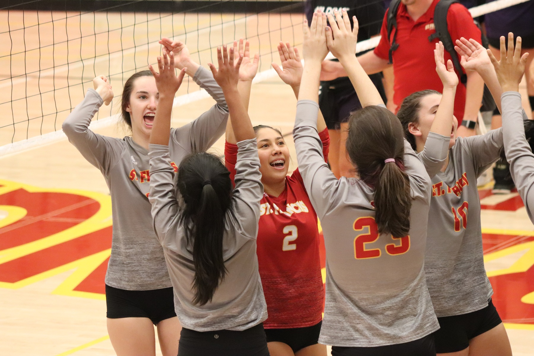 Volleyball Completes Delta League Undefeated